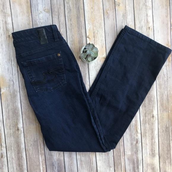 Hugo Boss Dark Wash Bootcut Jeans Size